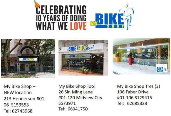 My Bike Shop Locations - 30 Jan