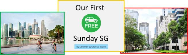 Our First Car-Free Sunday SG