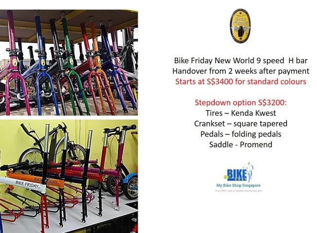 Bike Friday NWT call June call